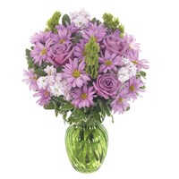 """Cherished Moments"" flower bouquet in Ingallina's Gifts (BF37-11K)"